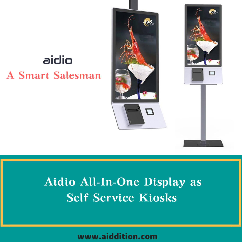 Aidio All-in-One Self Service Kiosks